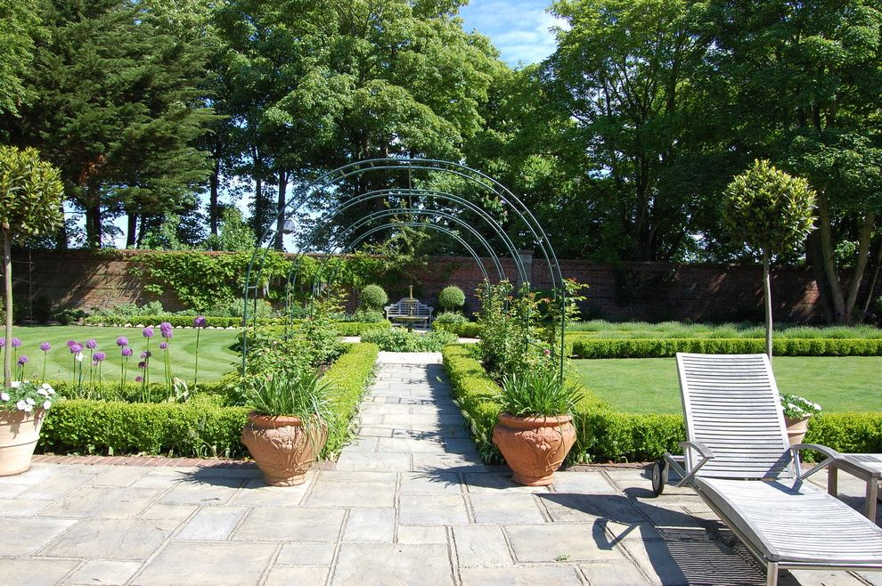 Fairfield Garden Center with Traditional Landscape Also Arbor Box Box Balls Hornbeam Lutyens Rose Arch Summer House Sundial Traditional Water Feature