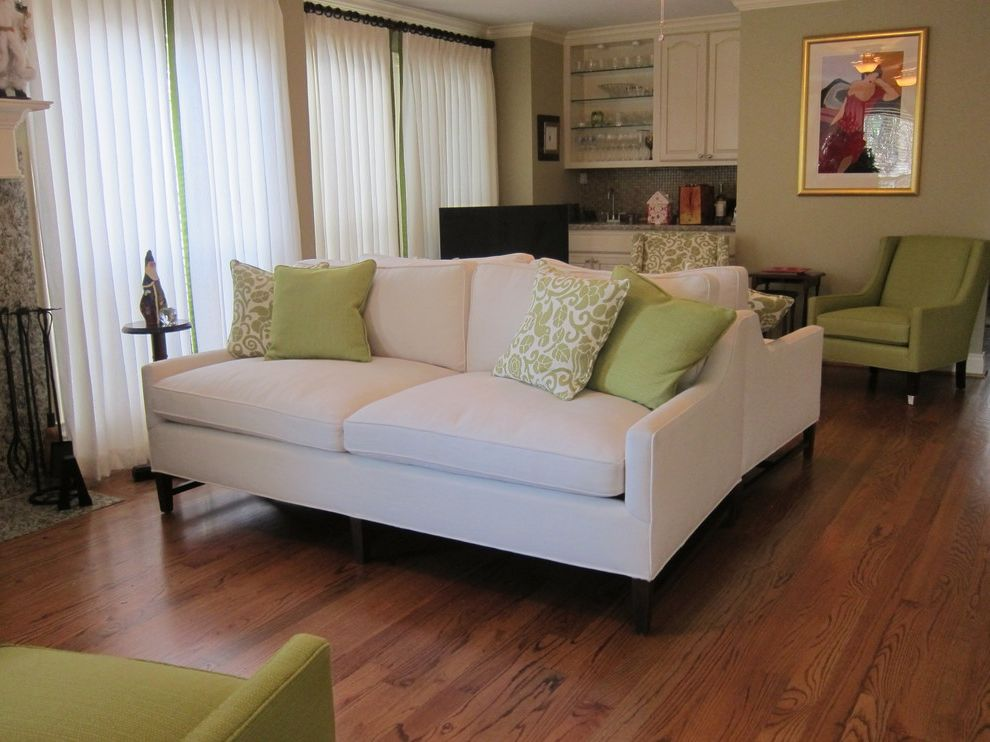 Foremost Homes with Traditional Family Room  and Color Green Rooms Trends in Interior Design in 2013 Wood Floors
