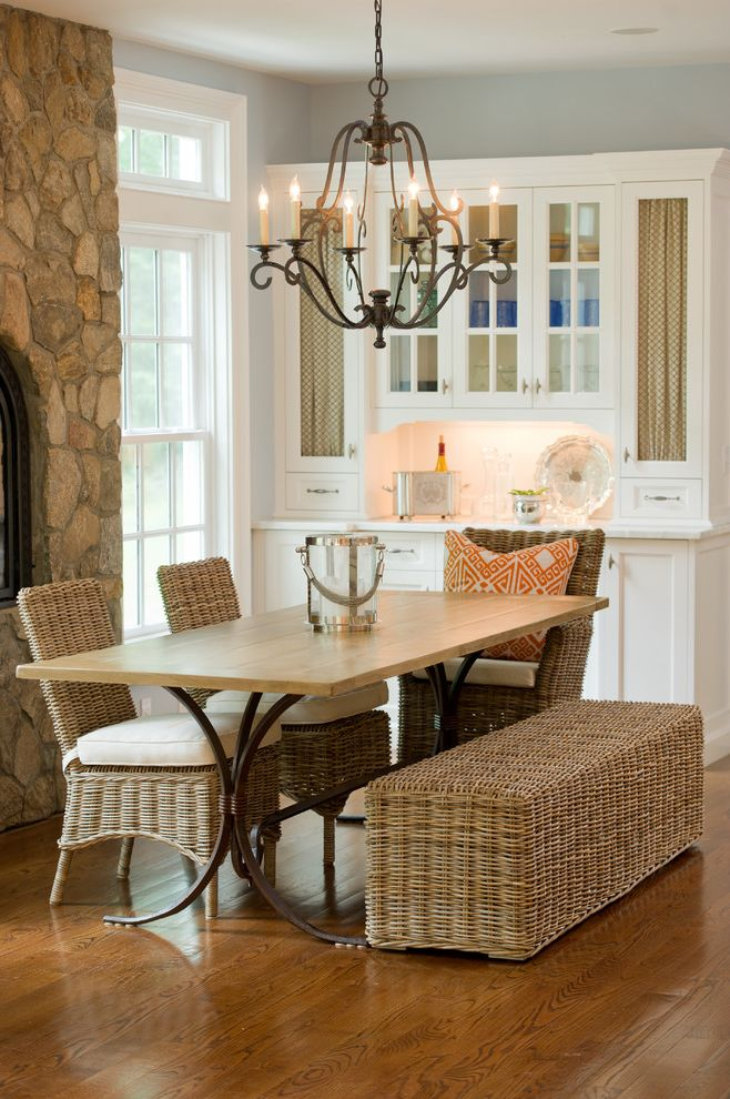 Furniture Stores Boise with Farmhouse Dining Room Also Chandelier China Cabinets Dining Bench Dining Hutch Divided Lights Mixed Dining Furniture Trestle Table White Wood Wicker Dining Furniture Wood Flooring Wood Molding