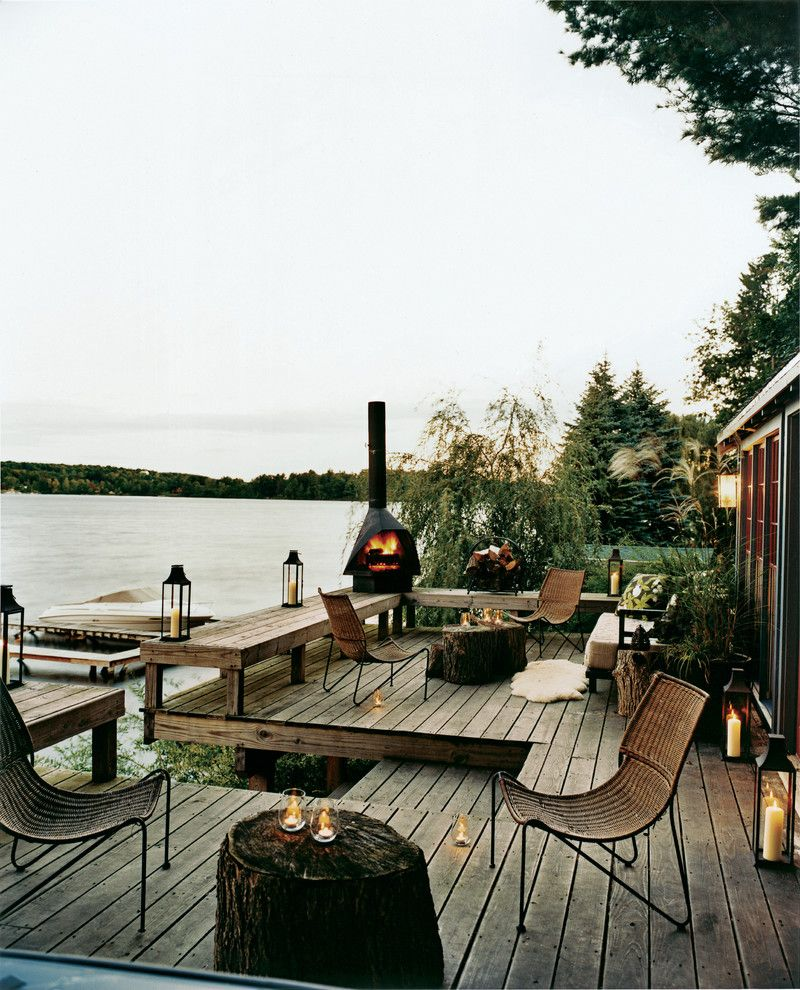Furniture Stores Fort Myers with Rustic Deck Also Candles Deck Dock Lake Lanterns Outdoor Fireplace Outdoor Lighting Patio Furniture Rustic View Waterfront Wooden Bench Woven Furniture