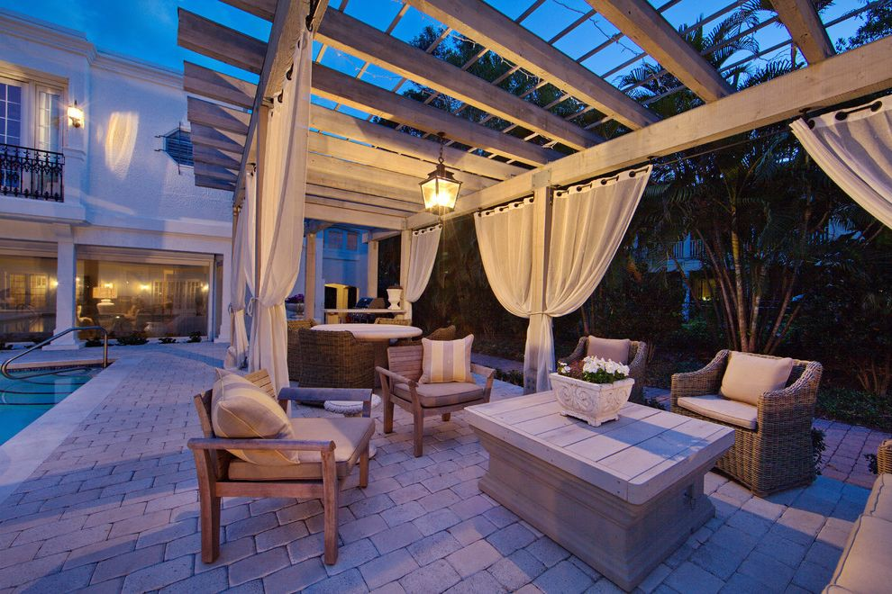 Furniture Stores in Knoxville Tn with Mediterranean Patio Also Curtains Deck Lanterns Lighting Neutral Colors Outdoor Curtains Outdoor Cushions Patio Patio Furniture Pavers Pergola Pool Wicker Furniture