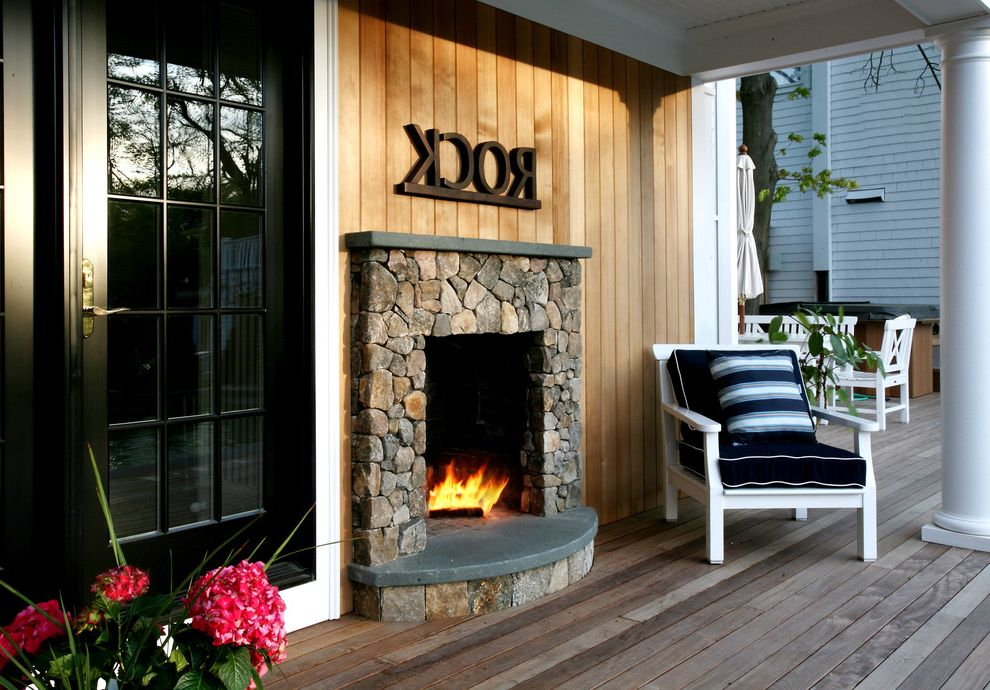 Furniture Stores in Round Rock Tx   Rustic Deck  and Column Deck Exterior Fireplace Fireplace Mantel French Doors Outdoor Cushion Outdoor Fireplace Patio Furniture Rock Rustic Stone Throw Pillow Wall Decor Wood Wooden Decking