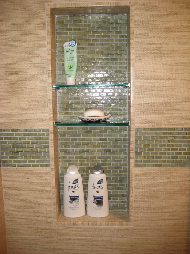 Glass Shelves for Shower   Asian Spaces  and Asian