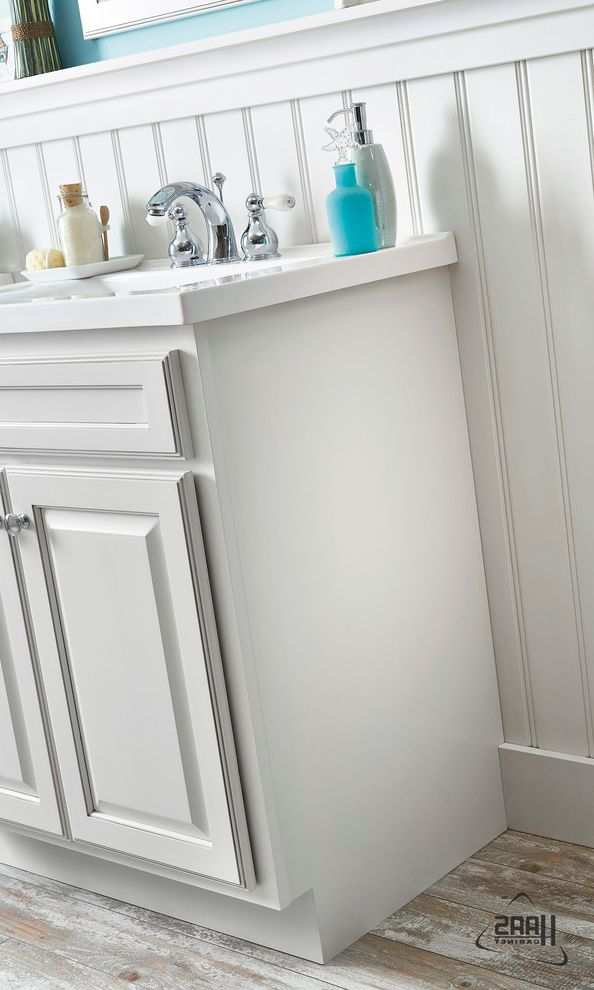 Haas Cabinets   Beach Style Bathroom  and Bathroom Cabinets Blue Haas Cabinets Trendy Vanities White