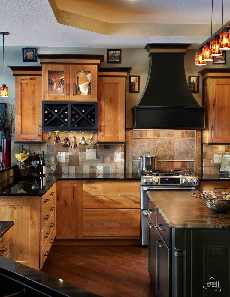 $keyword Opulent Rustic Cherry Kitchen | Haas Cabinet $style In $location
