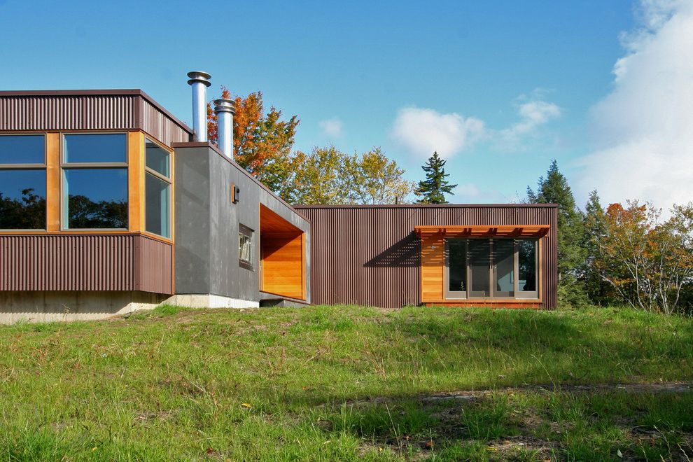 Heating and Cooling Louisville Ky with Modern Exterior  and Prefab