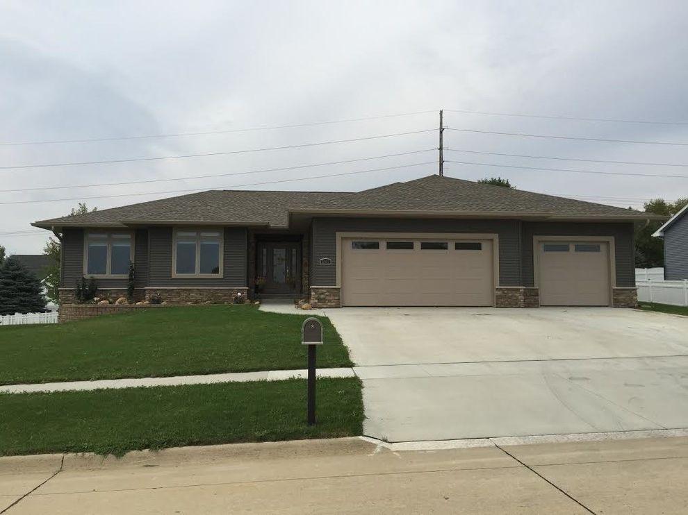 Home Depot Deck Designer   Traditional Exterior Also Beige Garage Custom Home New Build Tile Exterior