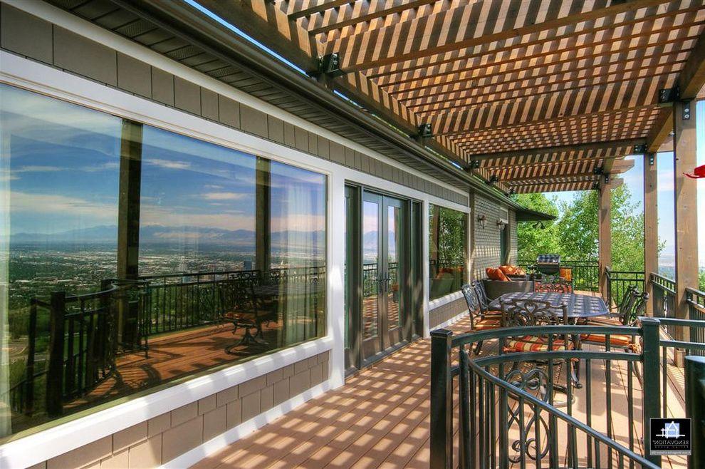 Home Depot Ogden Utah   Traditional Deck Also City View Deck Living Outdoor Living Trellis West Sun