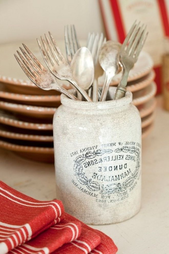 How to Clean Silverware   Traditional Dining Room  and Dinnerware Kitchen Shabby Chic Traditional Tumbleweed and Dandelion Vintage