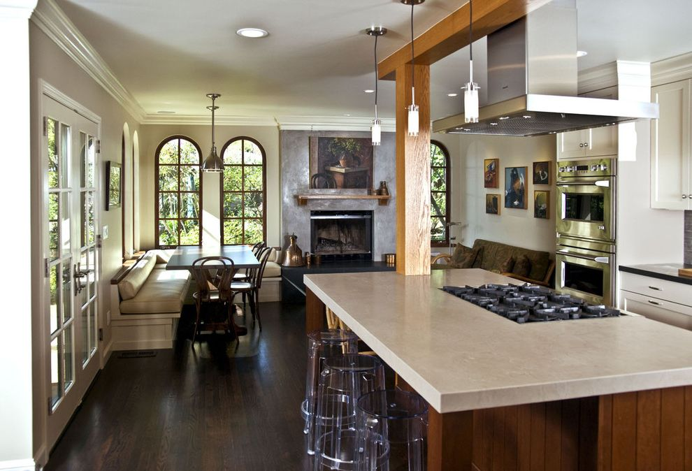 Lowes Hibbing Mn   Rustic Kitchen Also Arched Window Barstool Bench Dining Area Fireplace French Door Kitchen Island Mediterranean Pendant Light Rustic Stucco Stucco Wall