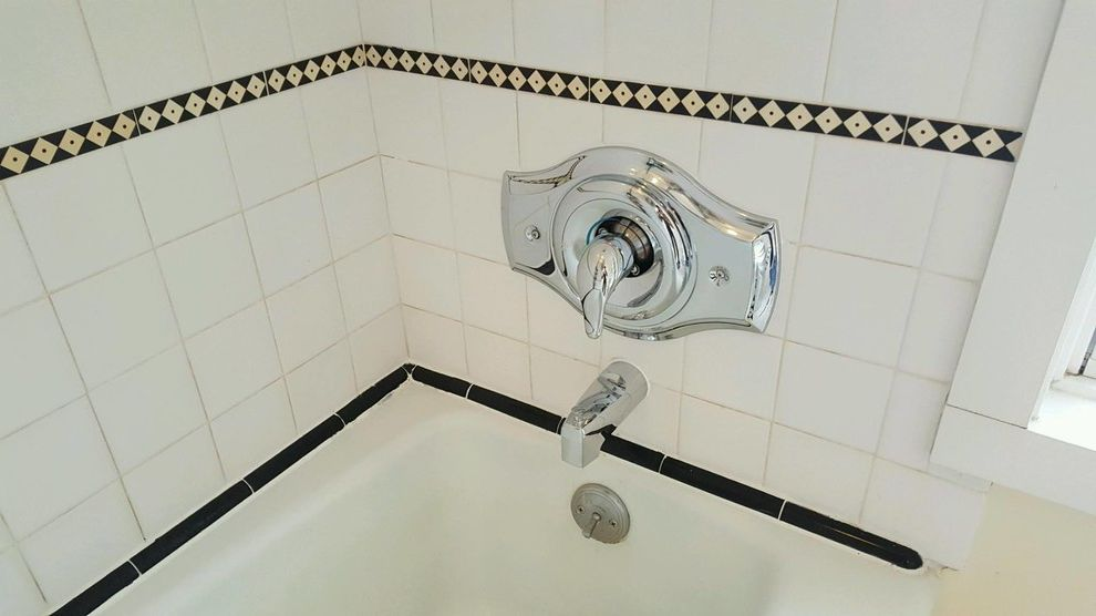 Moen Shower Valves with Traditional Spaces  and Bathroom Remodel Shower