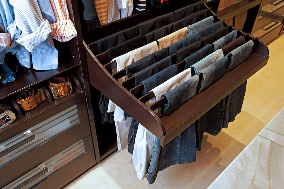 Pants Hangers in Bulk   Contemporary Closet  and Contemporary