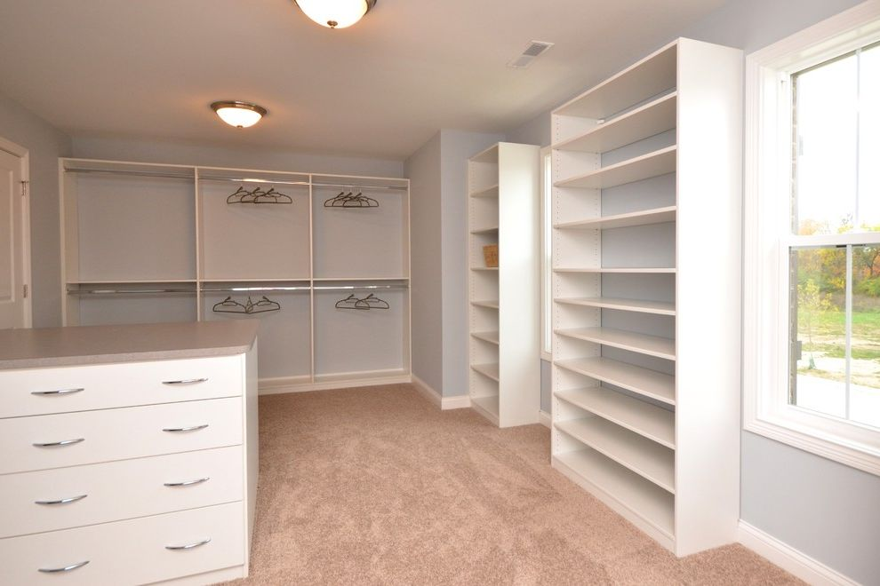 Pendragon Homes   Transitional Closet  and Transitional