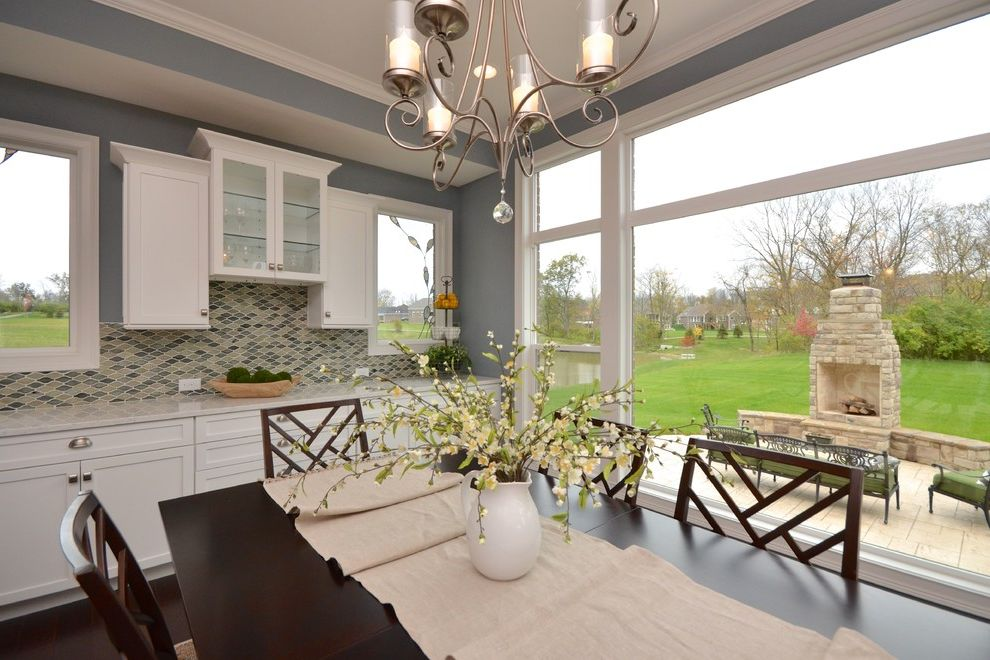 Pendragon Homes with Transitional Dining Room  and Transitional
