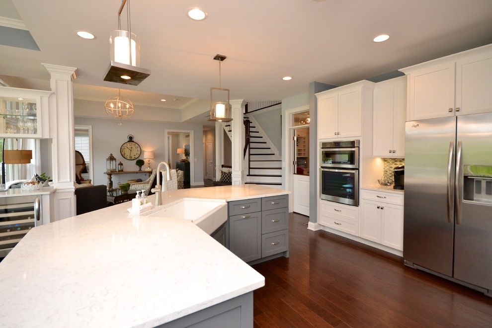 Pendragon Homes with Transitional Kitchen Also Transitional