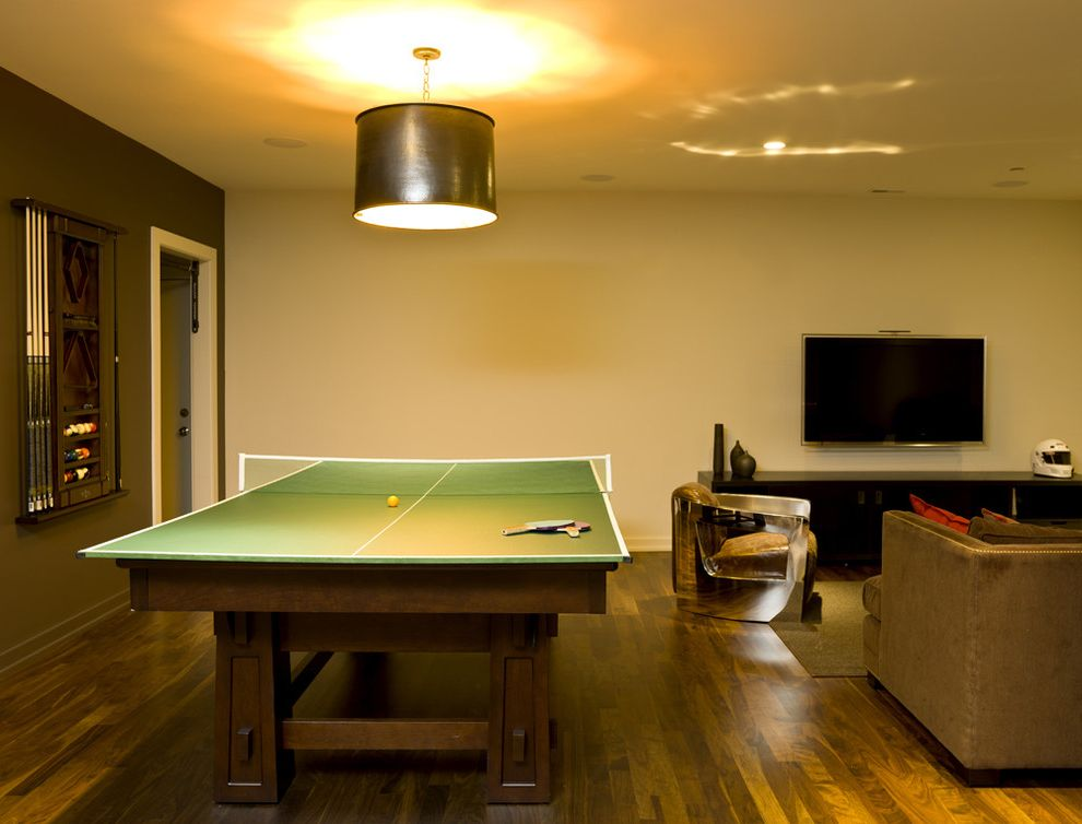 Ping Pong Tables   Modern Basement  and Modern