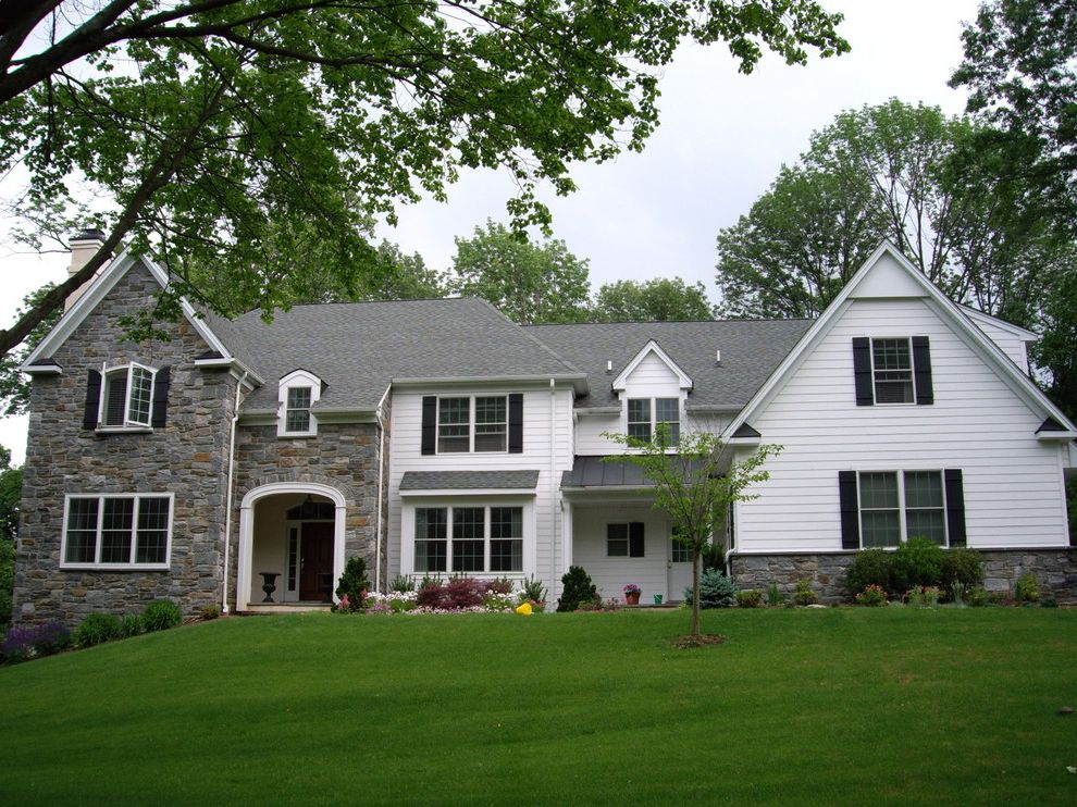 Precision Contracting Services   Traditional Exterior  and Roofing Gutters