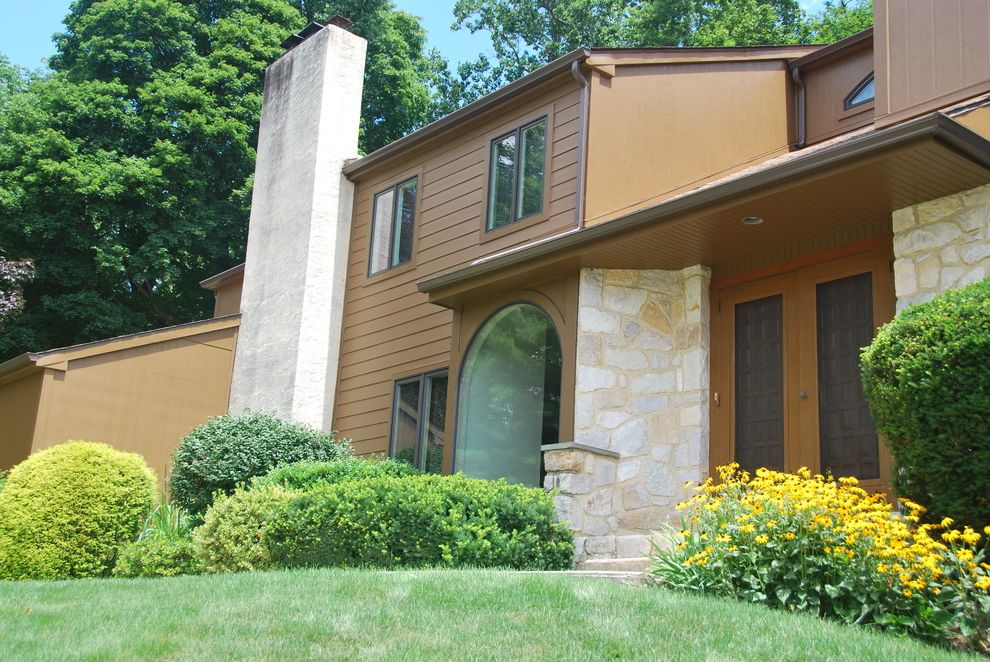 Precision Contracting Services with Modern Exterior Also Modern