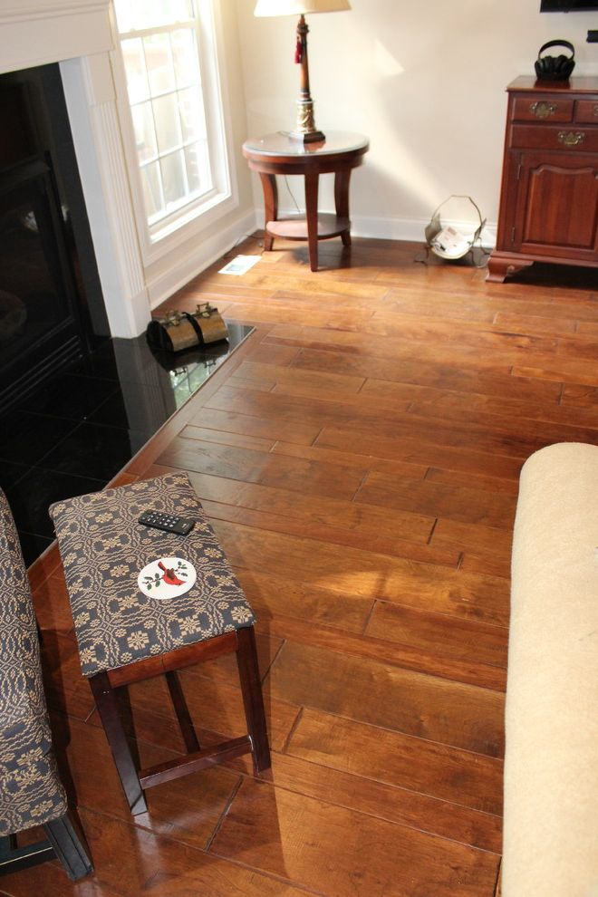 Remodelers Mart with Traditional Family Room  and Carpet Mart Engineered Wood Flooring Hard Surface Louisville Shaw