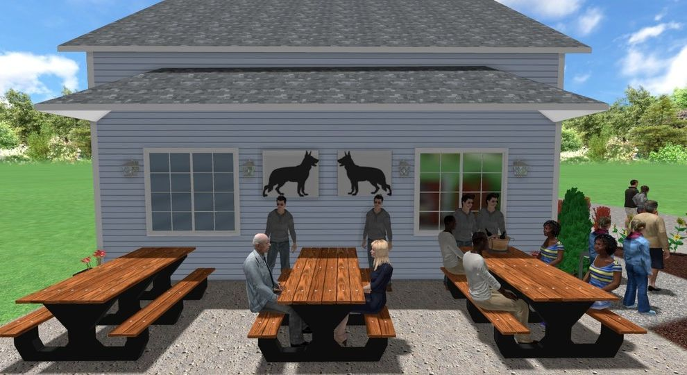 Stonehill Kennels   Traditional Spaces  and Traditional