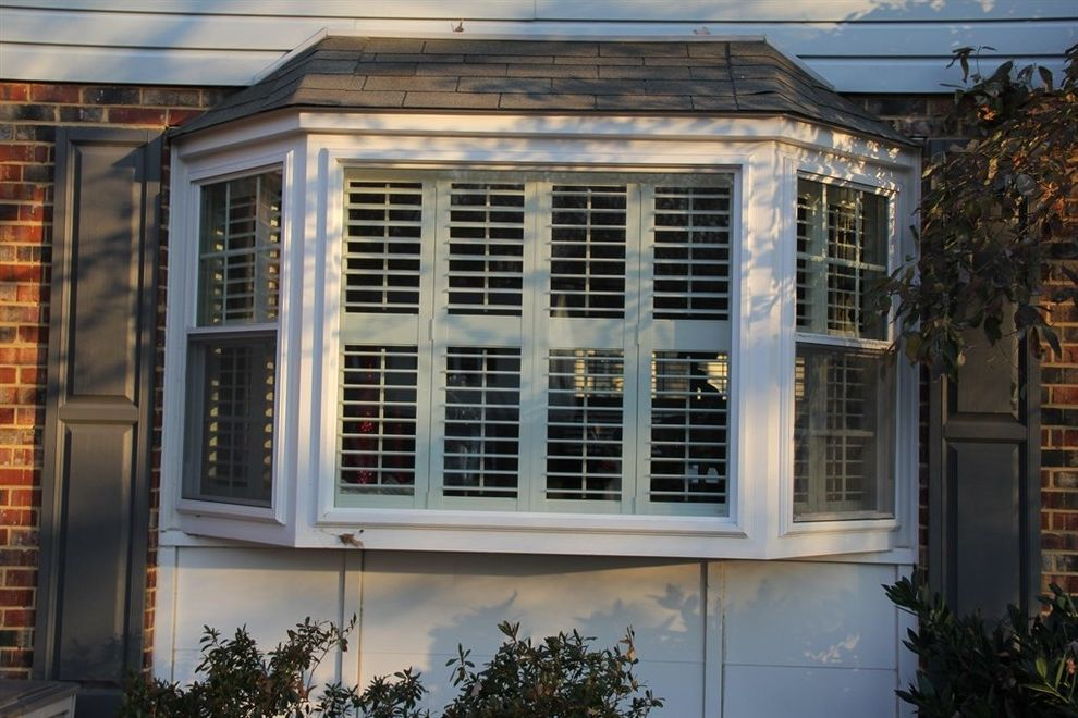 Thompson Creek Windows with Traditional Spaces Also Bay Window Bay Windows Entry Doors Replacement Windows