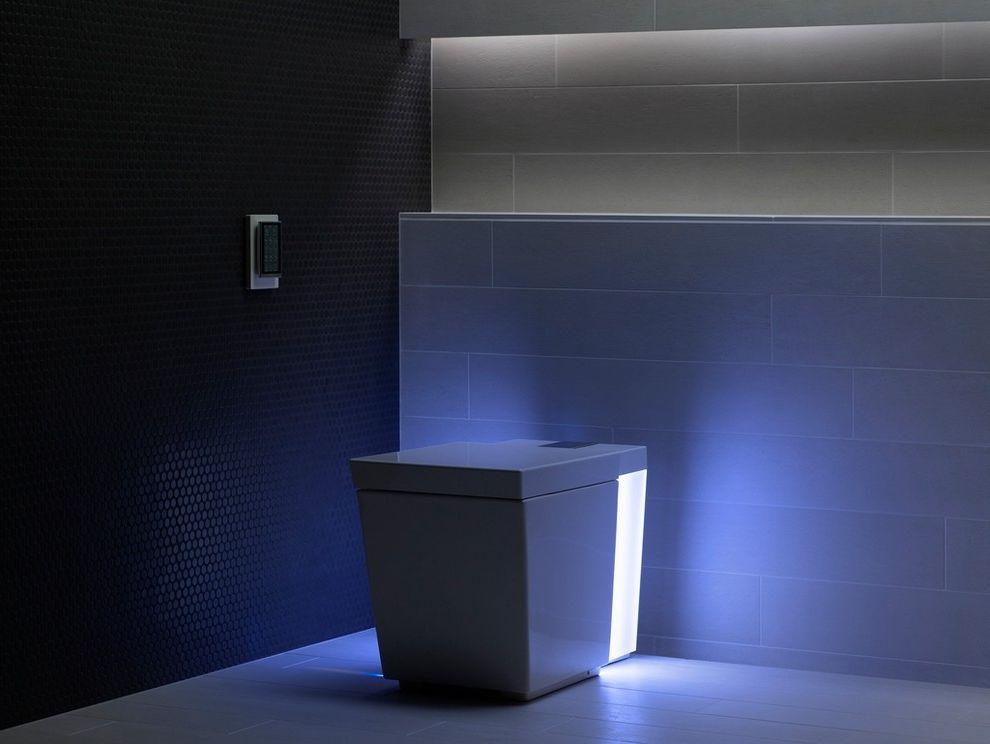 Toilet Bidet Combo with Contemporary Bathroom Also Digital Toilet High Tech High Tech Toilet High Tech High Tech Toilet Kohler Kohler Numi Kohler Toilet Modern Toilet Night Light Nightlight Numi Numi Toilet Square Toilet Toilet Light