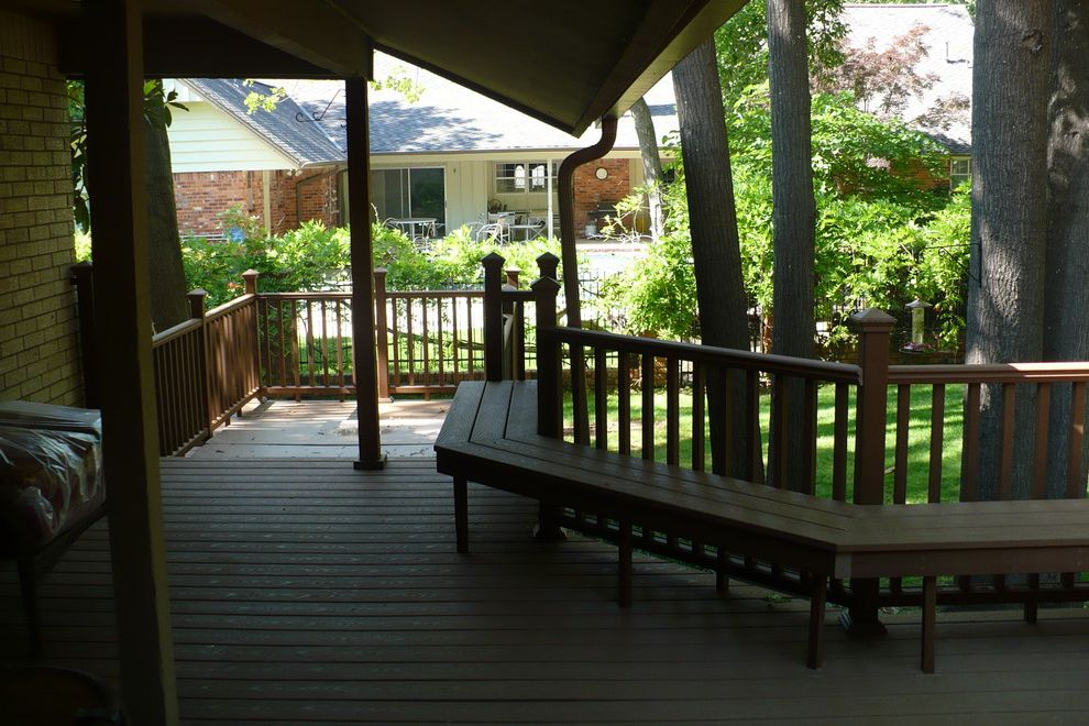 Trex Madeira   Traditional Deck Also Traditional