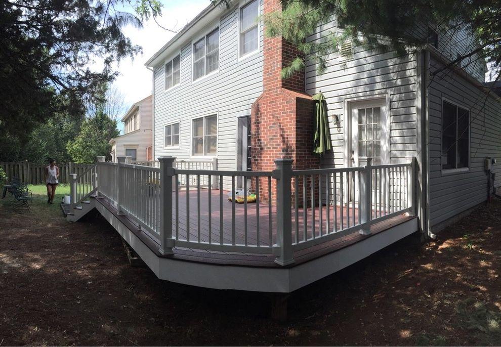 Trex Madeira   Traditional Deck  and Cool Deck Deck Deck Builder Outlet Deck Lighting