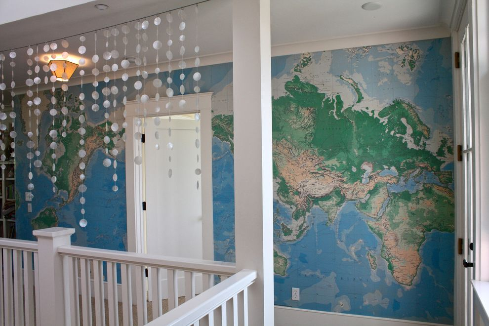 World Globes for Sale   Traditional Hall  and Globe Map Map Wallpaper Wallpaper World