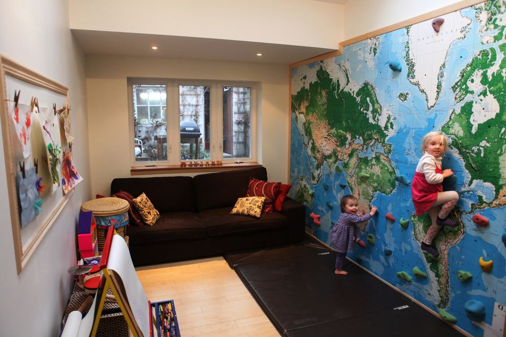 $keyword Climbing Wall - World Map Mural $style In $location