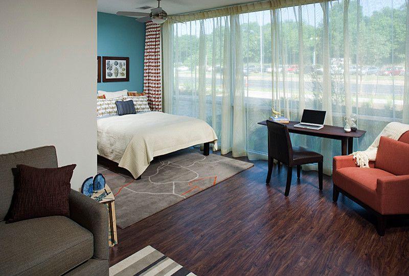 Amli South Shore   Contemporary Bedroom Also Contemporary