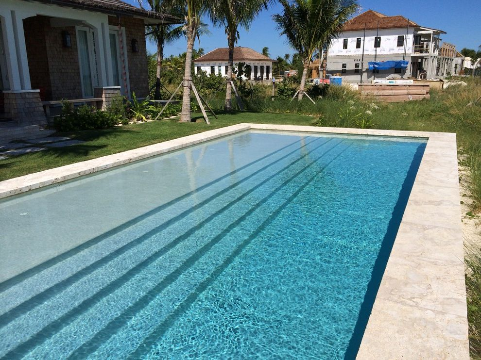Bakers Bay Bahamas   Contemporary Pool  and Delray Beach Swimming Pools Landscape Architects Designers Palm Beach County Swimming Pool Builders Swimming Pool Builders in Jupiter Theatre Pool Entry Tucker Design Build