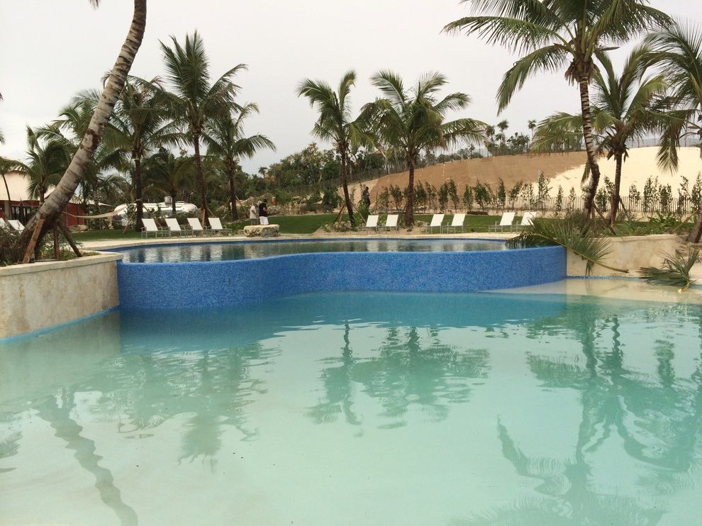 Bakers Bay Bahamas with Beach Style Pool Also Design Only by Tucker Design