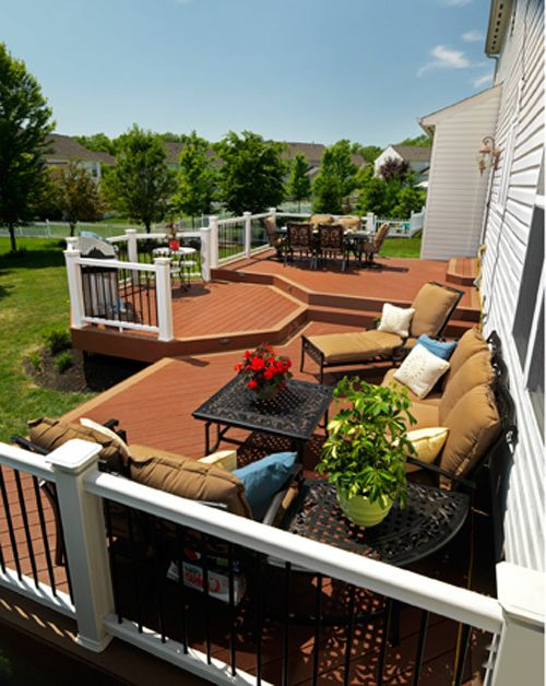 Brookside Lumber with Traditional Deck Also Multi Level