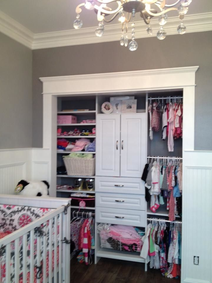 Easyclosets Com with Modern Kids Also Baby Bedding Baby Room Beadboard Chandelier Children Lighting Childrens Decor Closet Organizers Crown Molding Custom Closets Galvanized Girls Closet Grey Room