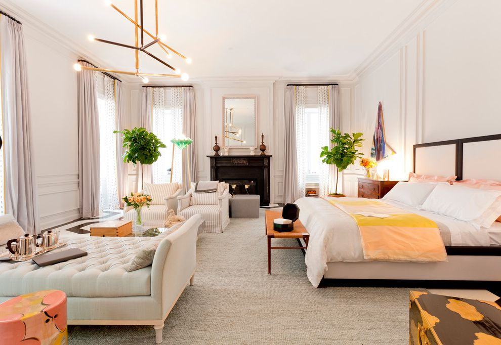 Frette Sheets   Contemporary Spaces Also Nyc Holiday House