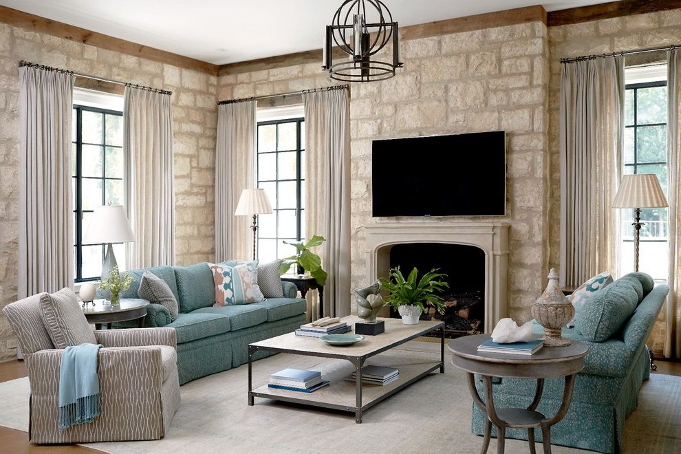 Furniture Stores in Greensboro Nc with Traditional Family Room Also Area Rugs Armchair Coffee Table Curtains Elegance Floor Lamp House Plants Pendant Light Pillows and Throws Side Table Sofas Stone Wall Table Lamp Tabletop Accessories