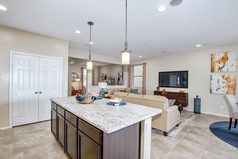 Garrett Walker Homes with Transitional Spaces  and Transitional