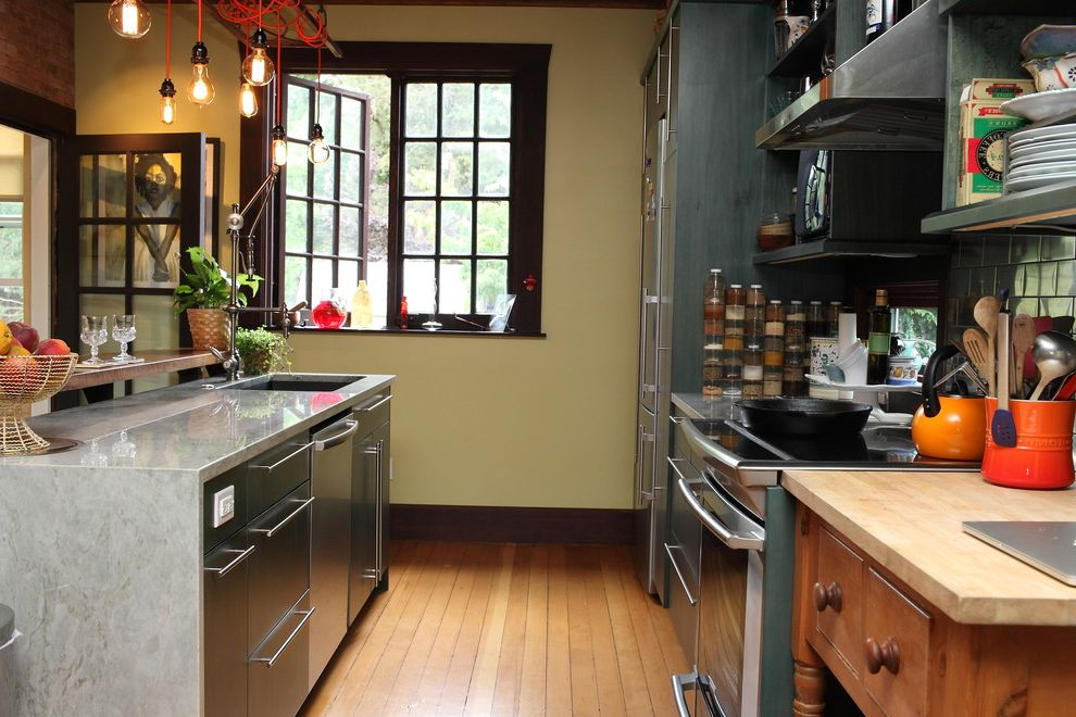 George Morlan Plumbing   Eclectic Kitchen Also My Houzz
