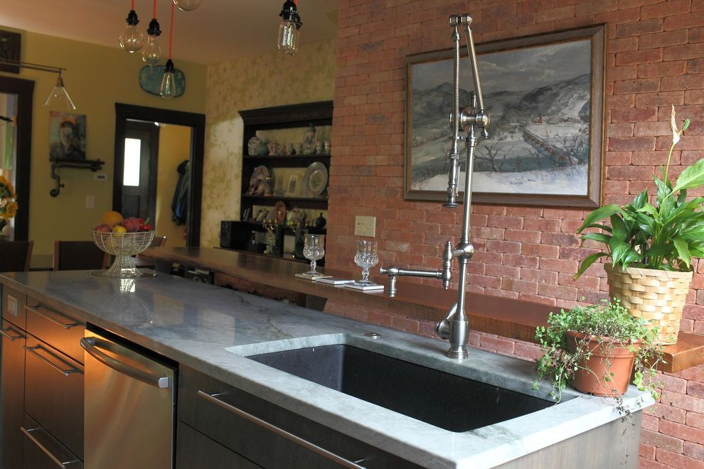 George Morlan Plumbing with Eclectic Kitchen Also My Houzz