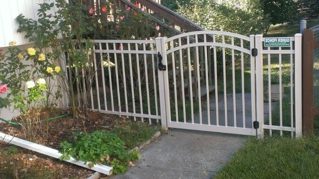 Guier Fence with  Spaces Also Aluminum Fences Steel Fences