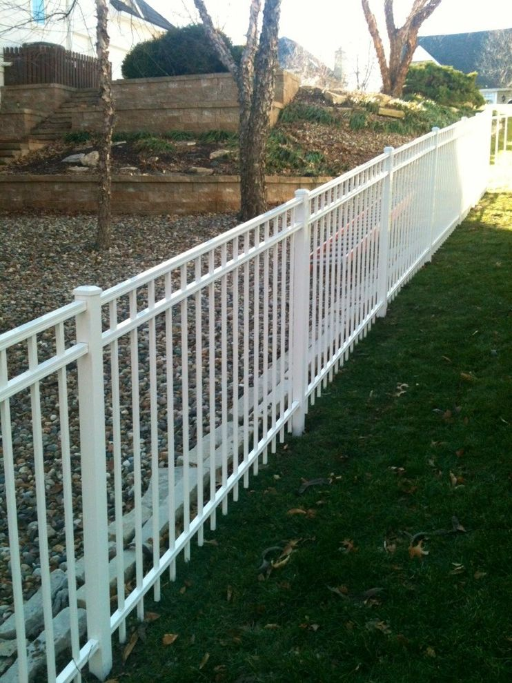 Guier Fence with  Spaces  and Aluminum Fences Steel Fences