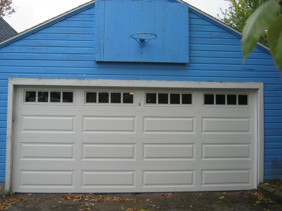 Hamburg Overhead Door   Traditional Garage  and Traditional