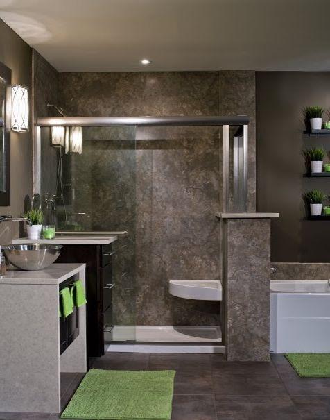 Lowes Altoona    Bathroom  and Master Bathroom Shower Shower Remodeling Walk in Shower