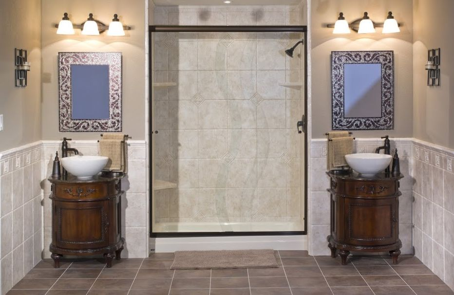 Lowes Altoona with  Bathroom Also Barrier Free Showers Bathtub Shower Combos Low Entry Shower