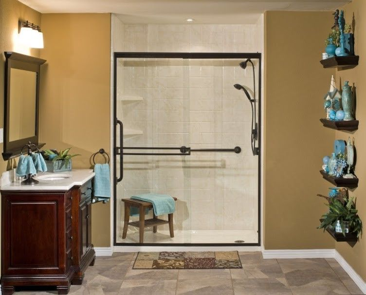 Lowes Altoona with  Bathroom  and Barrier Free Showers Bathtub Shower Combos Low Entry Shower