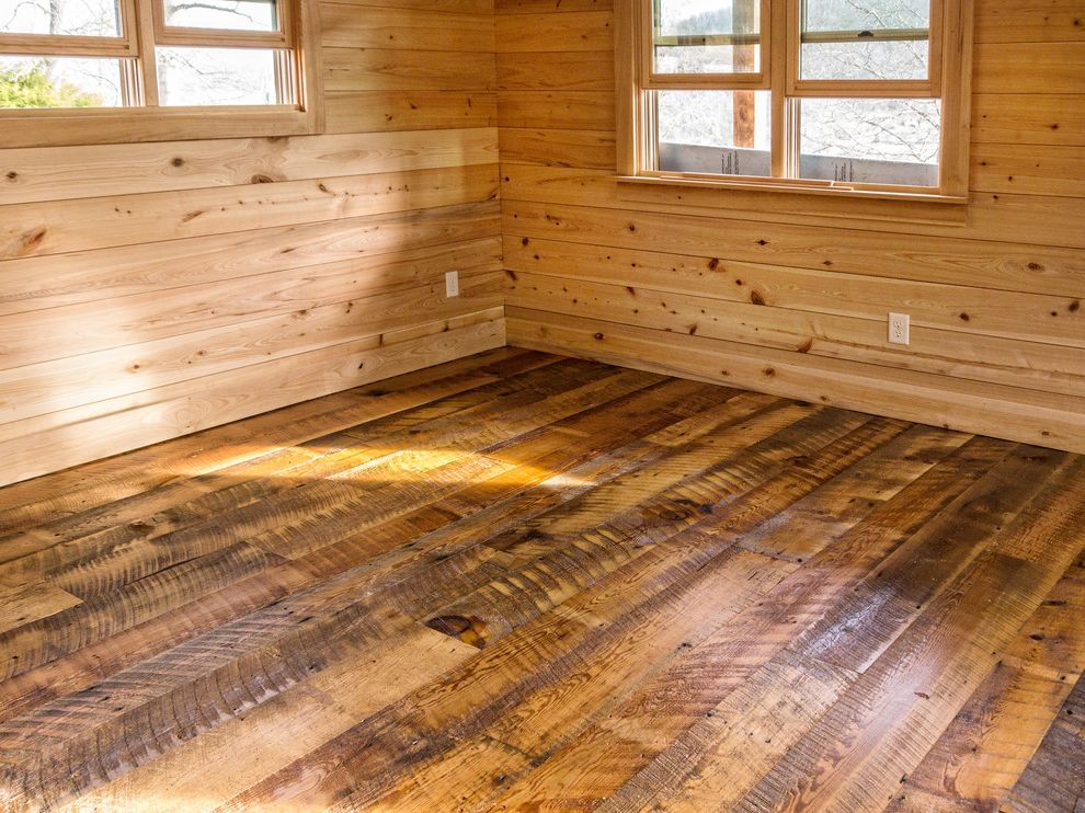 Lowes Asheville   Rustic Spaces Also Artisan Asheville Barn Wood Cabin Cypress Hardwood Heart Pine Nickel Groove North Carolina Plank Floors Reclaimed Remote Rough Sawn Rustic Rustic Cabin