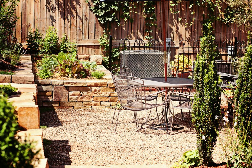 Lowes Asheville with Mediterranean Landscape  and Asheville Black Carolina Classic Climbing Plants Eating Area Garden Gravel Metal Patio Furniture Mountain North Rock Rockwall Shapes Stone Stone Work Vegetable Wall Western