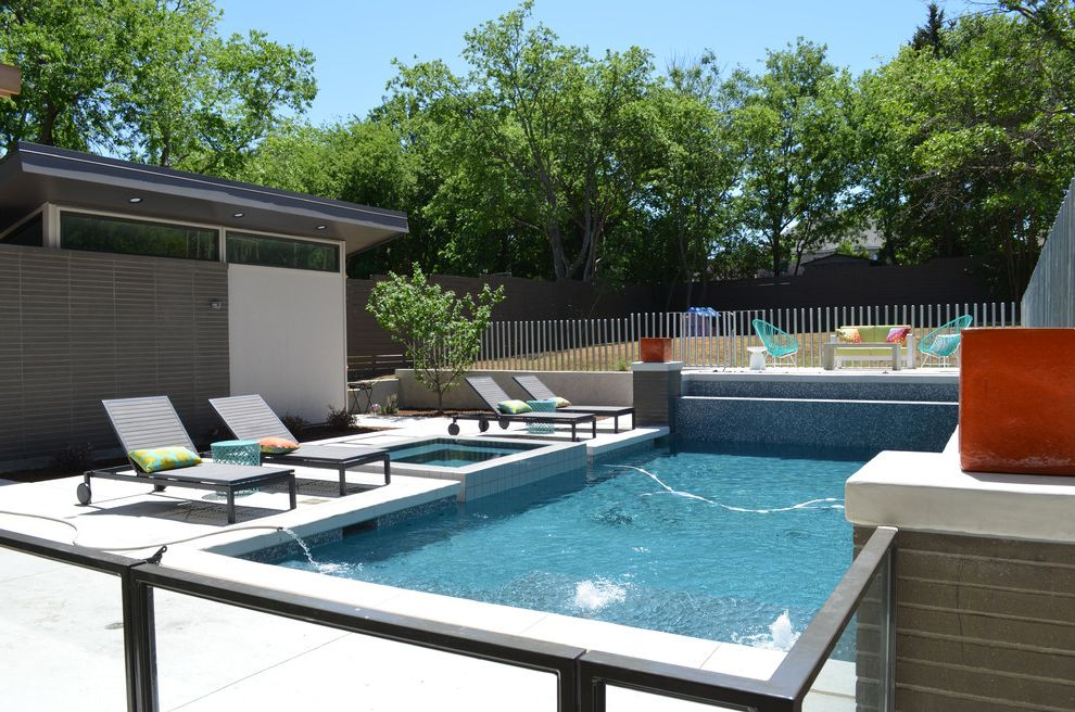 Lowes Decatur Tx with Contemporary Pool Also Fence Hot Tub Lounge Chair Modern Pool Pool Chairs Pool House