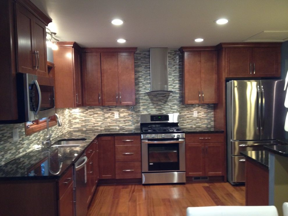 Lowes Las Vegas with Modern Spaces  and Allen Roth Atg Cherry Hardwood Floors Diamond Cabinetry Granite Countertop Lowes